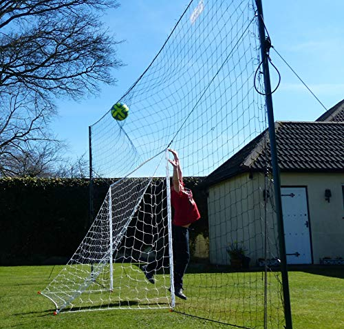 Open Goaaal  AS SEEN on DRAGONS DEN Rebounding Football Goal - Stops shots going over  rebounds them back      Standard Size