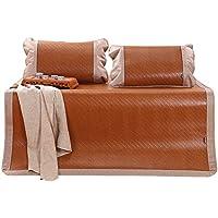 Doppelseitige Gebrauchsbett-Matte - Bambus Sommer Schlafmatten Haushalt Hochwertige Atmungsaktive Faltbare Matten - natürlicher Bambus und Rattan Klappbett-Matte (Größe : 150*195cm) preisvergleich bei kinderzimmerdekopreise.eu