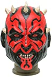 Star Wars Maske (kompletter Kopf) Kostüm - Fasching Party Karneval (Darth Maul)
