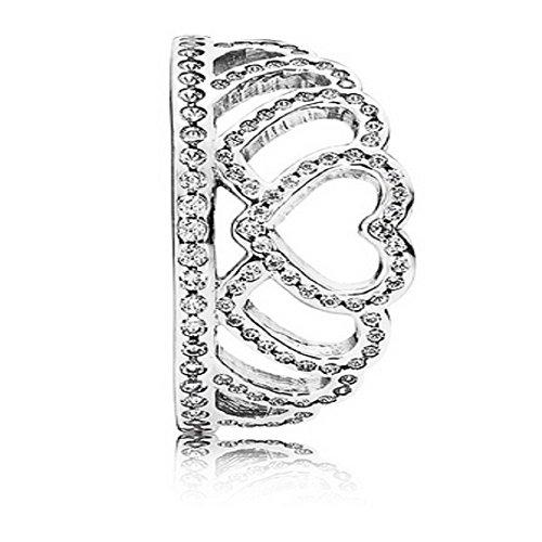 1da2aa7e3b9 PANDORA Hearts Tiara Ring 190958CZ, Different Sizes Available (7 / 54)