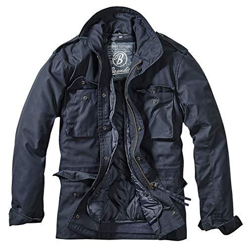 Brandit Herren M-65 Feldjacke Classic Jacke, Blau (Navy 8), - Herren Paar Kostüm