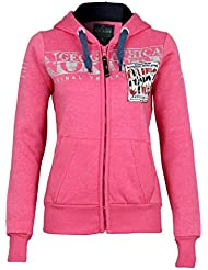 Geographical Norway sweat jacket Gwen Lady