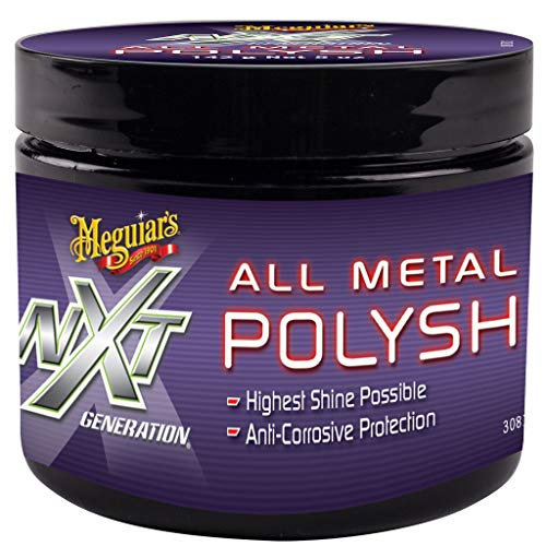Meguiar's G13005EU NXT All Metal Polish Metallpolitur, 142g -