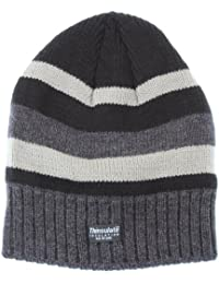FLOSO® Mens Striped Thermal Thinsulate Winter Hat (3M 40g)