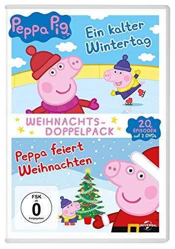 Peppa Pig - Weihnachtsdoppelpack [2 DVDs]