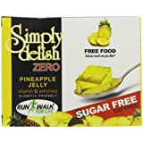 Simply Delish Sugar Free Instant Pineapple Jelly 8 g (Pack of 8)
