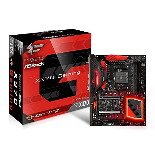 Asrock X370 Professional Gaming Mainboard mit Chip grau