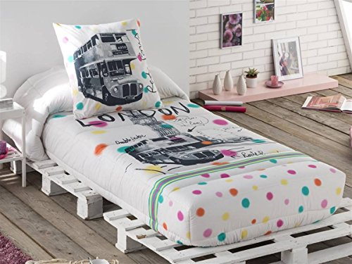 Tejidos JVR - Edredón Ajustable LONDON cama 90