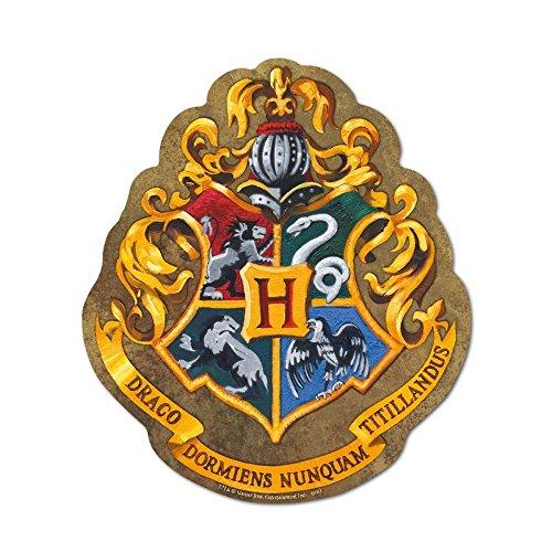 Harry Potter–Ratón–Alfombrilla para ratón–Hogwarts Escudo Logo–22x 21,5cm