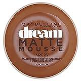 Maybelline Dream Matte Mousse Foundation Cocoa 70