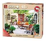King 14.051,3cm Cafe Terrasse in Europa Senior Puzzle für Erwachsene (500-large Stück)