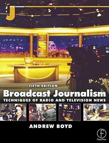 Portada del libro [(Broadcast Journalism : Techniques of Radio and TV News)] [By (author) Andrew Boyd] published on (November, 2000)