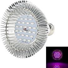 XJLED Lámpara LED para plantas, 8 W, AC85-265V, ledes SMD2835, lámpara de crecimiento para invernadero, color rojo y azul