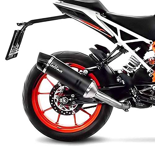 LeoVince Schalldämpfer SBK Carbon Lv One Slip On Evo passend zu KTM Duke 125 ABS