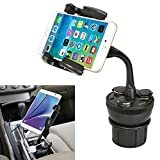 Best C-Pioneer Mini PC - iKross Car Cup Holder Charger Mount with 3 Review
