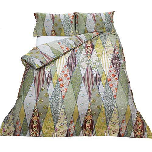 Angel Strawbridge The Chateau Wallpaper Museum Single Duvet Cover Set Best Price and Cheapest