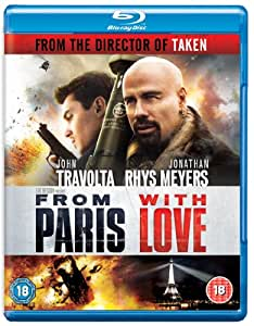 From Paris With Love [Blu-ray] [2010] [Region Free]