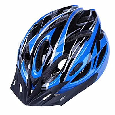 FEESHOW Unisex Cycle Helmet Men Women Bike Allround Helmet with Detachable Visor by FEESHOW