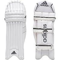 adidas XT 4.0 - Bloc de bateo de Críquet, Color Blanco, Negro y Plateado, Tamaño LHSM
