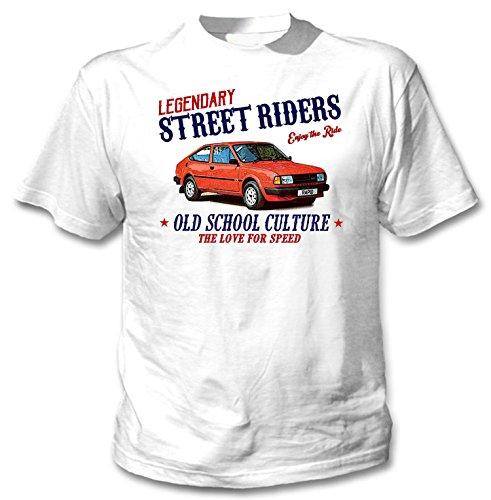 Men's Skoda Rapid Coupe 1988 Old School Culture T-shirt