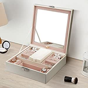 coffret bijoux fypo bo te bijoux verrouillable avec. Black Bedroom Furniture Sets. Home Design Ideas