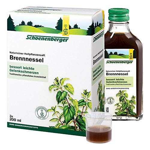 Brennesselsaft Schoenenberger 3X200 ml -