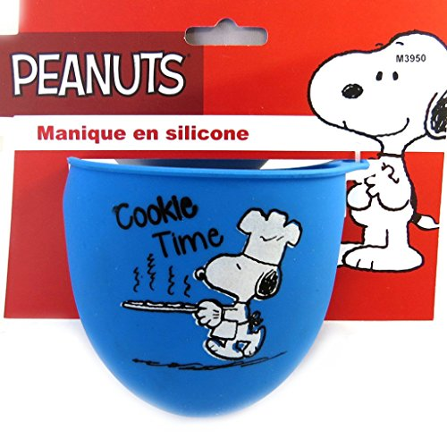 snoopy-m3950-manique-silicone-snoopy-bleu-cookie-time