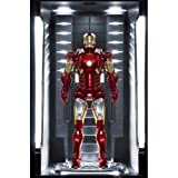 Iron Man 3 Action Hero Vignette 1/9 Mark VII Hall of Armor 20 cm Dragon Models