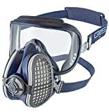 Elipse Spr406 Gvs Integra Safety Goggle + P3 Dust Half Mask Respirator, Medium/Large, Blu