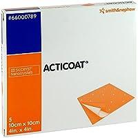 ACTICOAT 10x10 cm antimikrobielle Wundauflage 5 St Kompressen preisvergleich bei billige-tabletten.eu