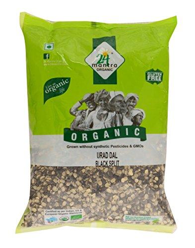 24 Mantra Organic Urad Dal Black Split, 500g