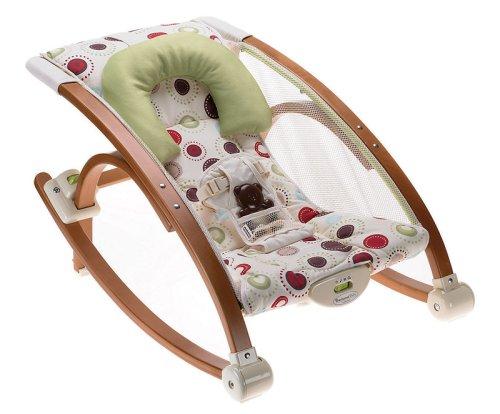 Fisher-Price Modelo P7538-0 Hamaca bebé de madera