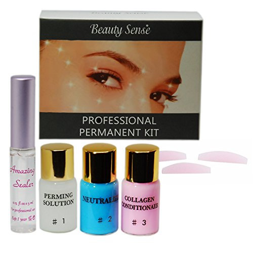 Wimpernlifting - Eyelash Perming Starter Set - Lash Lifting Set 5-Teiliges Set von Beauty Sense