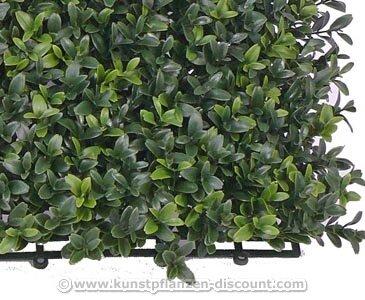 Kunstpflanzen Buchs Element 25x25cm, UV stabil – Kunstpflanze Kunstbaum künstliche Bäume Kunstbäume Gummibaum Kunstoffpflanzen Dekopflanzen Textilpflanzen Textilbäume Pflanzen