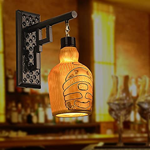FEI&S Camera da letto luce da parete nichel spazzolato in vetro smerigliato maschera Lampada di cortesia #37