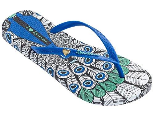 Ipanema 82366, Tongs Pour Femme Multicolore Mehrfarbig One Size blau (23677)