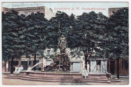 Landsberg a. W. Paukschbrunnen., gebraucht gebraucht kaufen  Wird an jeden Ort in Deutschland