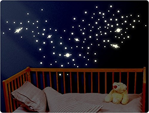 i-love-wandtattoo-11633-wall-sticker-luminous-planets-and-rockets-set-1