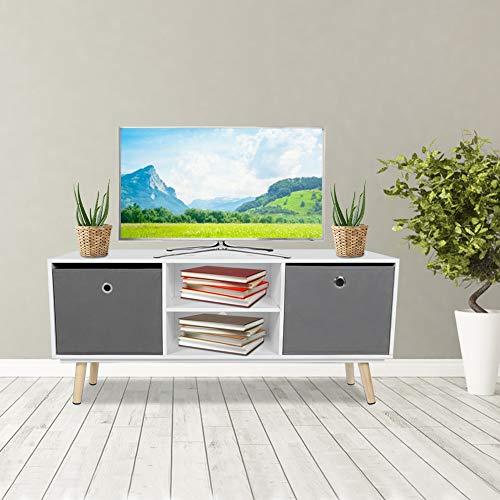 Mueble TV Salón Mesa para TV Televisión Estilo Moderno Nórdico ...