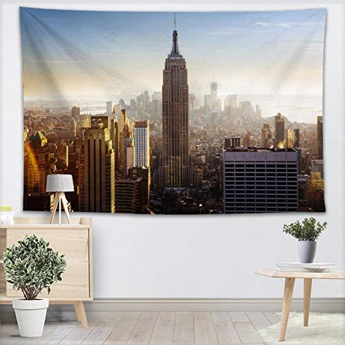xiaomingshangdian Personalizzato New York City Tapestry Sheets Home Decorativi Arazzi Telo...