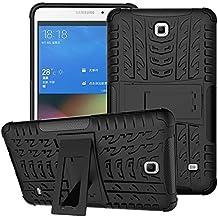 Funda para Samsung Galaxy Tab 4 7.0,XITODA Hybrid TPU silicone & Duro PC Protección Cover para Samsung Galaxy Tab 4 7.0 pulgadas SM-T230/T231/T235 Tablet Case Funda con Kickstand / Stand - Negro