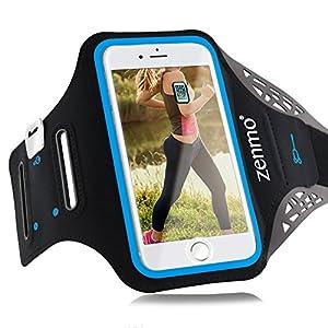 zenmo Sports Armband est votre meilleur choix pour les conditions d'entraînement multiples. Le brassard peut vous assurer que vous travaillez sans soucis en vous tenant debout dans vos bras parfaitement et en gardant votre téléphone et vos clés en ma...