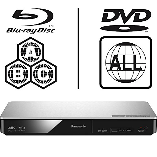 Panasonic dmp-bdt280eb Smart 3D 4 K Upscaling icos Multi Region alle Code Zone Free Blu-ray Player. BLU-RAY Zonen A, B und C, DVD Regionen 1-8. YouTube, Netflix etc. HDMI Ausgang. HDD Wiedergabe (Player Ray Region Alle Blu Dvd)