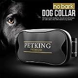 PetKing Premium Collare Antiabbaio Cane Collare Addestramento Cane Vibrazione Humano Dispositivo Anti Abbaio Cani