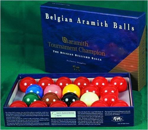 Kugelsatz Aramith Snooker Tournament TV 52,4mm