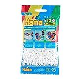 Hama 207-01 - Perlen weiß
