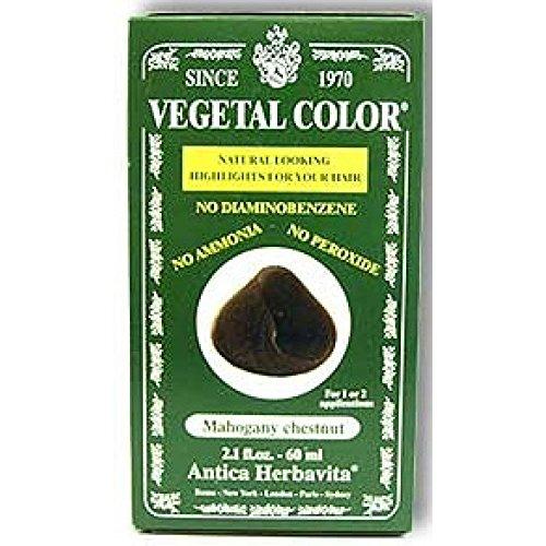 Shampoo Colorazione Semipermanente Senza Ammoniaca Vegetal Color 60 Ml Colore Nero