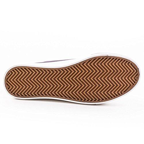 Damen Low Top Sneaker Doppelte Sohle Schnürer Turnschuhe Textil Leinen Canvas Zitrus