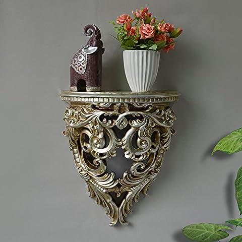 SAEJJ-Retro Hollow Wall shelf wall rack decorative