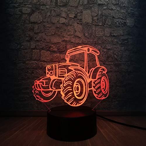 HEIßER VERKAUF Strand Düne Buggy Auto 3D LED Lampe 7 Farben Ändern Nachtlicht Hause Tischdekoration Cool Boy Auto fan Geburtstagsgeschenk Spielzeug